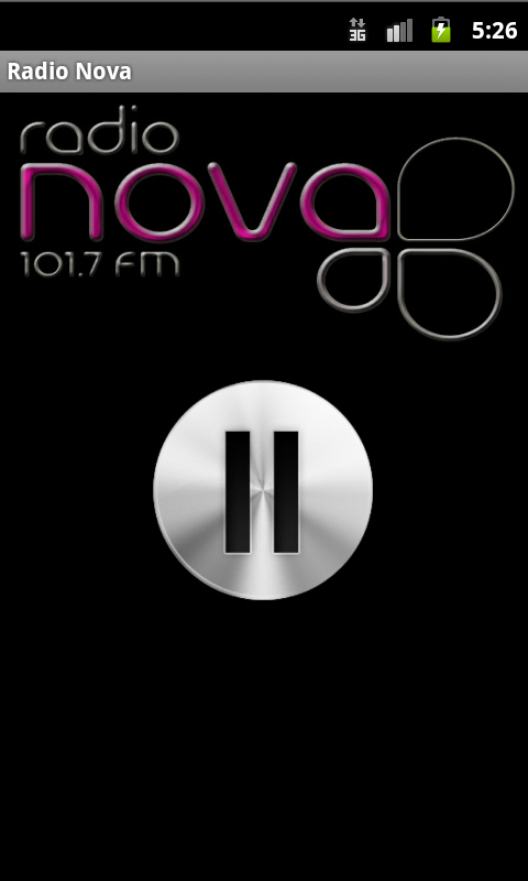 Radio Nova Online screenshot 1