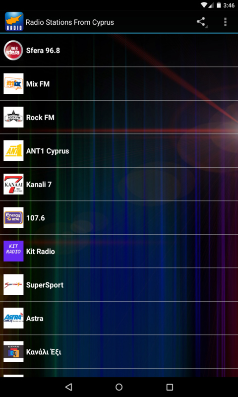Radio Stations From Cyprus screenshot 1