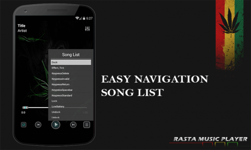 Rasta Music Player for Android - Download