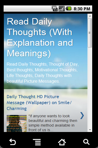 Read Daily Thoughts With Meaning For Android Download