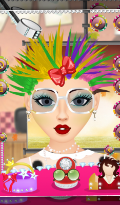 Real hair salon free android app android freeware for Actual beauty salon