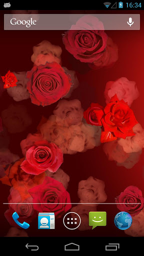 Red Roses Live Wallpapers screenshot 1