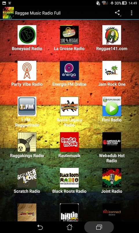 Reggae Music Radio Full screenshot 1