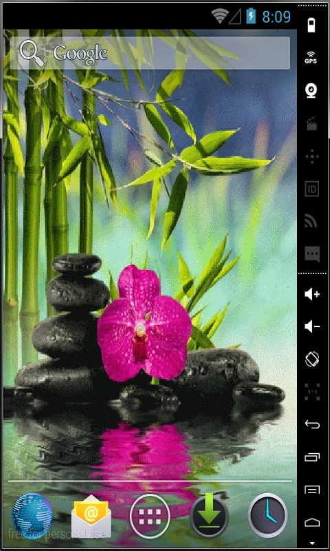Download Relax In Water Live Wallpaper APK Free