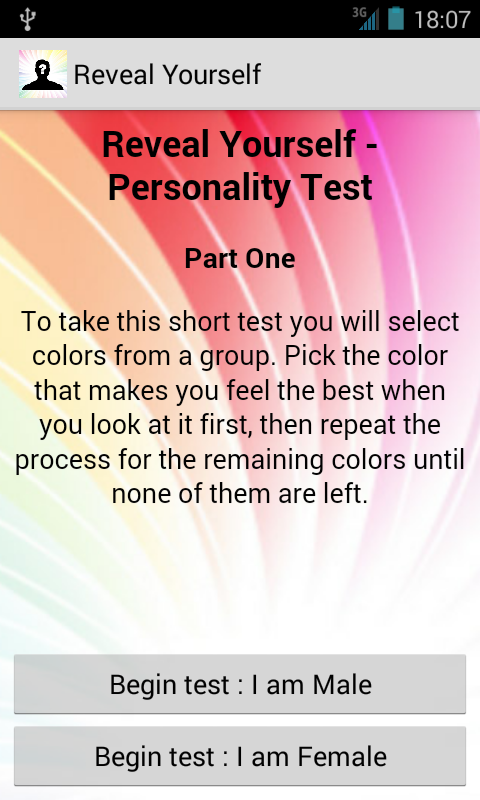Reveal Uself Personality Test for Android - Download