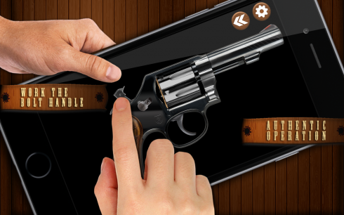 Revolver Guns Sim screenshot 1