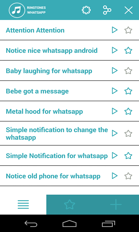Whatsapp audio ringtone free download