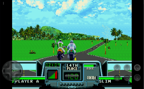 how to play road rash in android