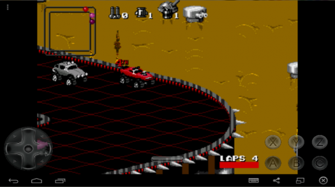Rock and Roll Racing screenshot 1