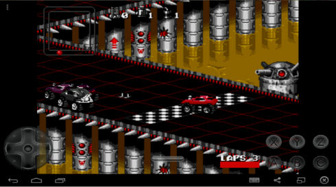 Rock and Roll Racing screenshot 2