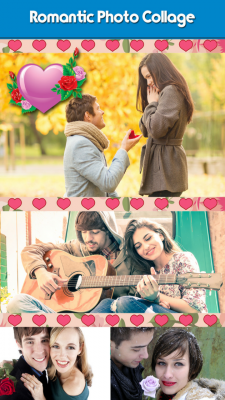 Romantic Photo Collage Free screenshot 1