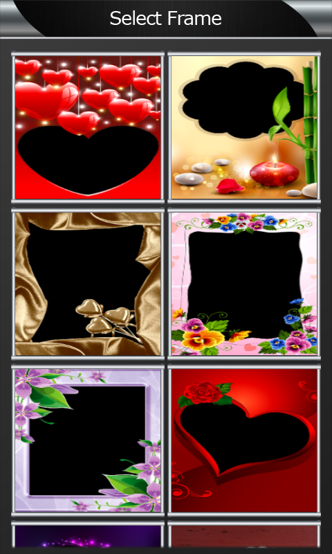 download romantic photo frames