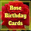 Image of Rose Birthday Cards