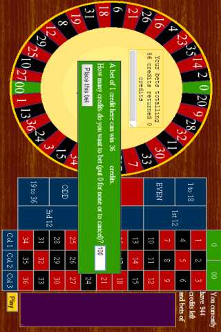 roulette download freeware
