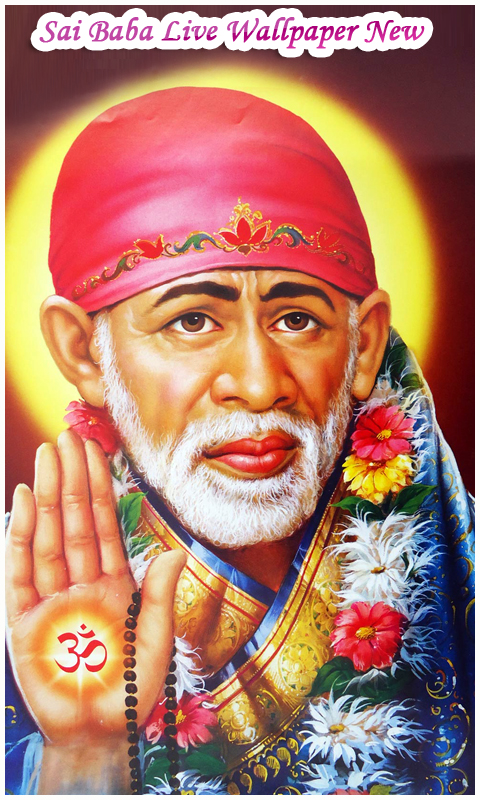 Sai Baba Live Wallpaper New screenshot 1