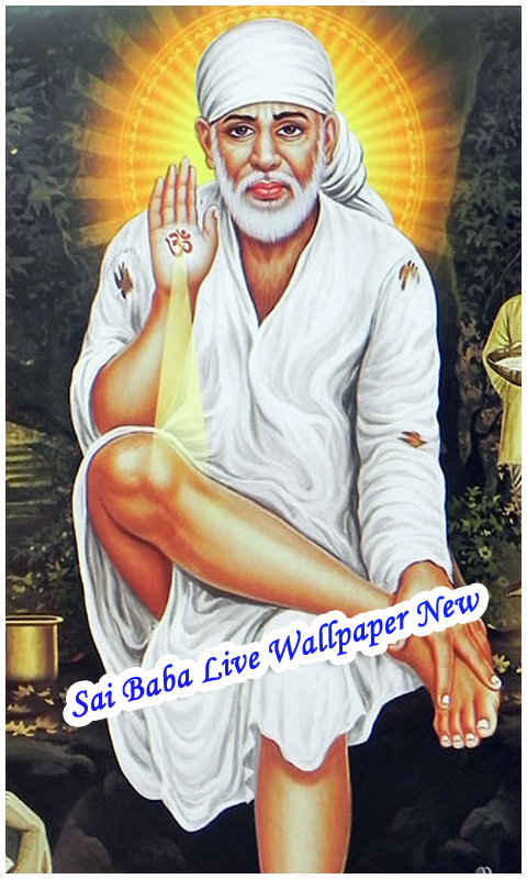Sai Baba Live Wallpaper New screenshot 2