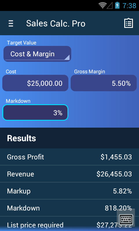 sales calculator app