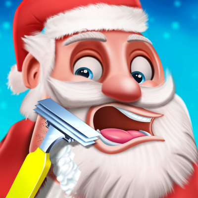 Santa Beard Salon Game