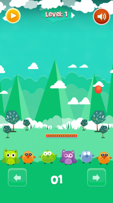 Save The Birds - Bounce Balls screenshot 1