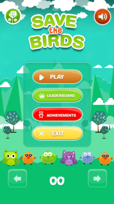 Save The Birds - Bounce Balls screenshot 2