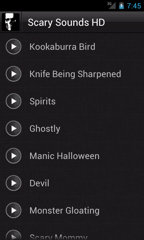 Scarry Sounds Free Download MP3   Orange Free Sounds