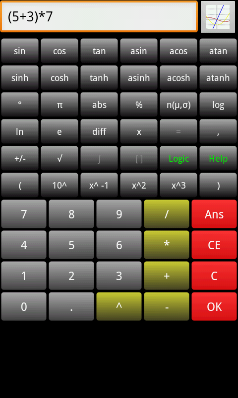 Scientific Calculator Dx screenshot 1