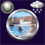 Download Sea Clock And Weather Widget for Android phone