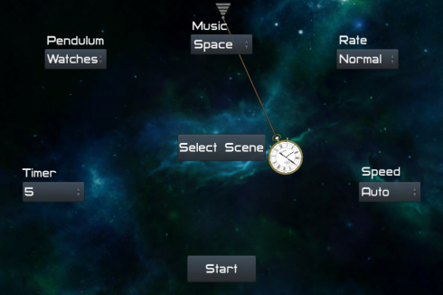Self-Hypnosis Pendulum screenshot 1