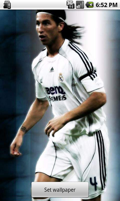 sergio ramos live wallpapers android app