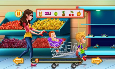 Shopping Game Kids Supermarket screenshot 1