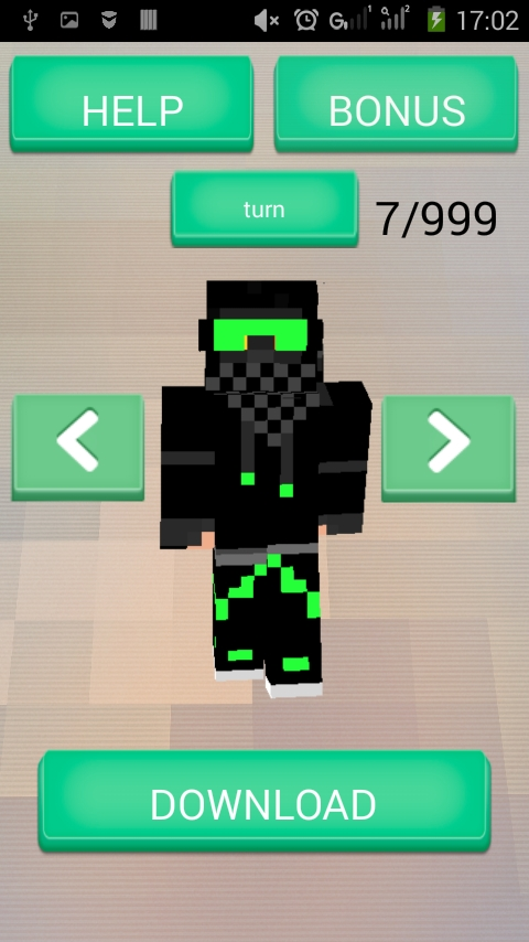 Skins For Minecraft PE Android App APK By ConverterConsole - Skins para minecraft pe para download