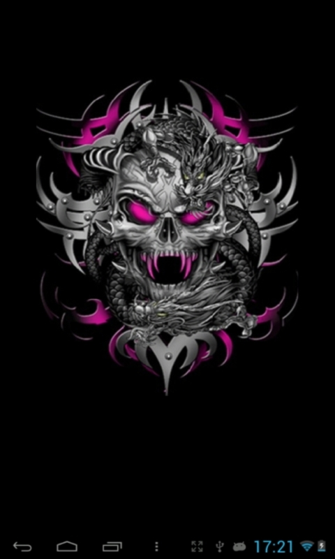 Skull live wallpapers free download for Android