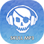 Download Skull mp3 downloader for Android phone