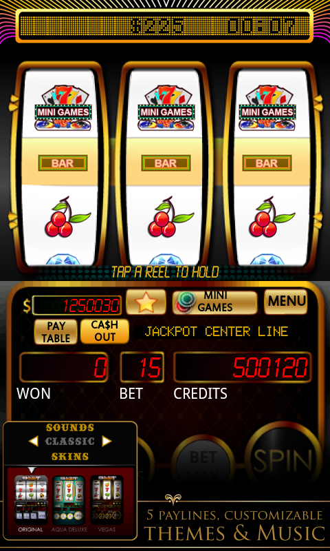 games slot machine games