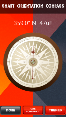 Smart Orientation Compass screenshot 2