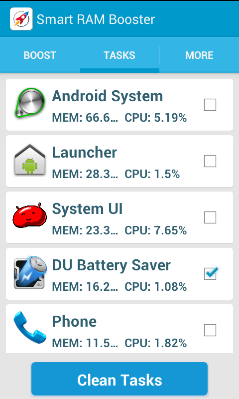 Smart RAM Booster for Android - Download