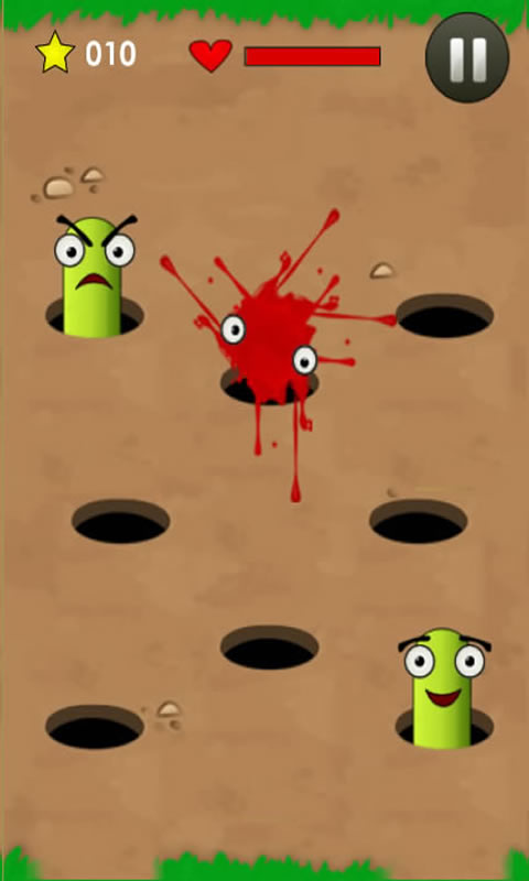 Download Smash the angry worm free for your Android phone