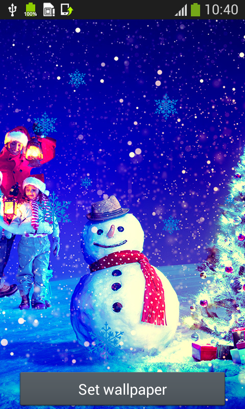 Snowman Live Wallpapers Free App Download Android Freeware