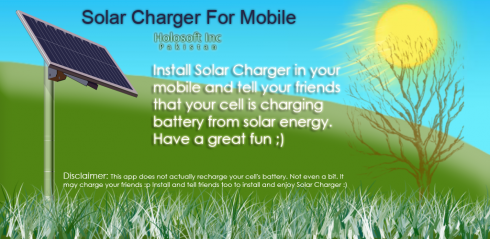 Solar Charger For Mobile screenshot 1