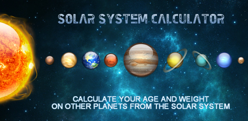 Solar System Calculator free app download for Android