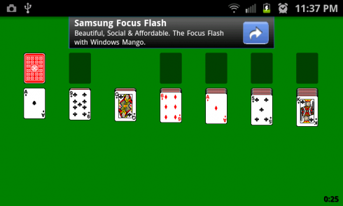 Solitaire Plus screenshot 1