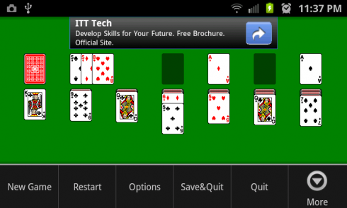 Solitaire Plus screenshot 2