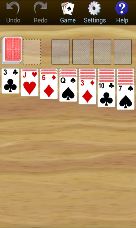 150 Card Games Solitaire Pack screenshot 1