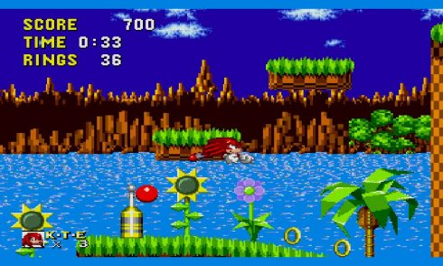 Sonic and Knuckles And Sonic 1 screenshot 2