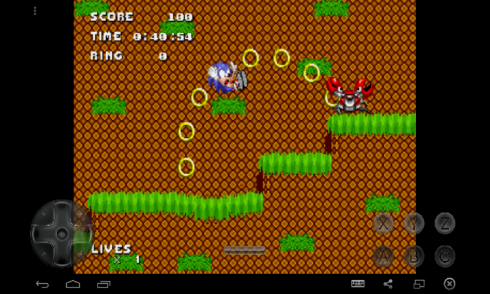 Sonic Chaos Quest screenshot 2