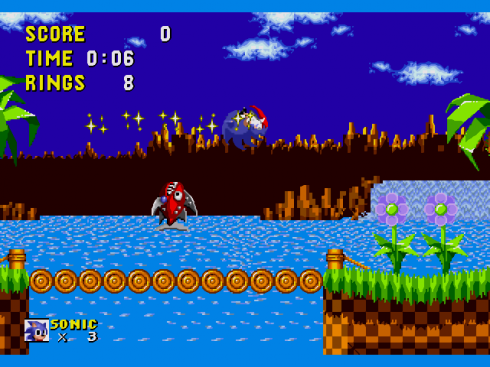 Sonic the Hedgehog 00 screenshot 1