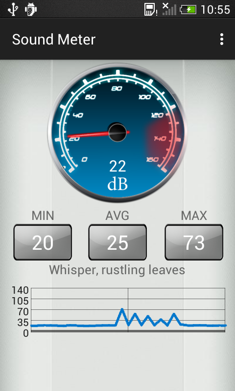 Sound Decibel Meter for Android - Download