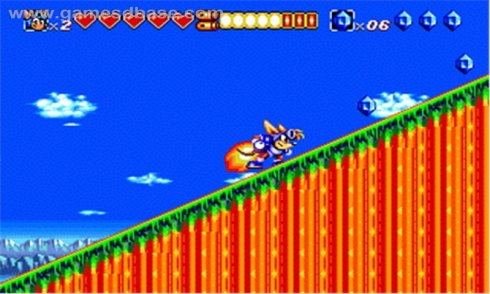 Sparkster and Sonic screenshot 1
