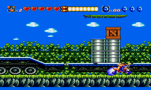 Sparkster and Sonic screenshot 2
