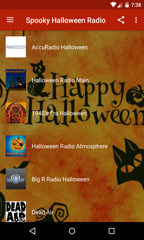 Spooky Halloween Radio Free screenshot 1